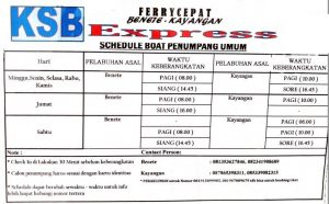 ferry lombok sumbawa timetable